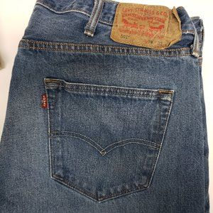 Levis 501 Button Fly Jeans 38 x 32